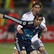 Lyon - Real Madrid : Cesar Delgado - Sergio Ramos