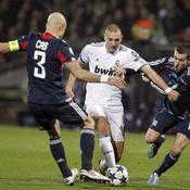 Lyon - Real Madrid : Karim Benzema