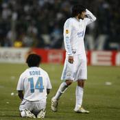 Bakari Koné et Lucho Gonzalez