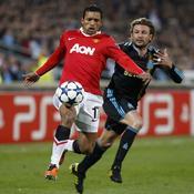 Marseille - Manchester United : Gabriel Heinze - Nani