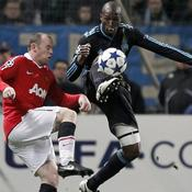 Marseille - Manchester United : Rod Fanni - Wayne Rooney