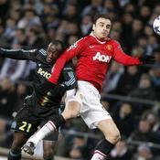 Marseille - Manchester United : Souleymane Diawara - Dimitar Berbatov