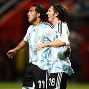 Le premier but de Messi avec l'Argentine