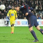 Nantes-PSG, Ibra doublé