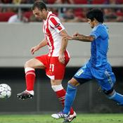 Olympiakos-OM Lucho presse Papadopoulos