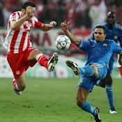 Olympiakos-OM Morel devant
