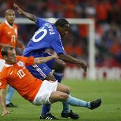 Sidney Govou et Sneijder