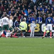 France-Irlande, barrage Coupe du monde 2010