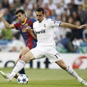 Real-Barça Arbeloa devant Pedro