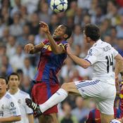 Real-Barça Duel aérien