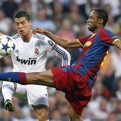 Real-Barça Keita devant Ronaldo