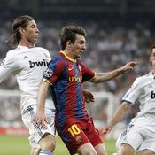 Real-Barca Messi devant Ramos