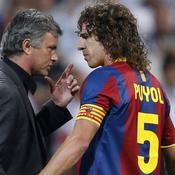 Real-Barca Mourinho et Puyol