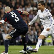 Real-Lyon, Ronaldo en action