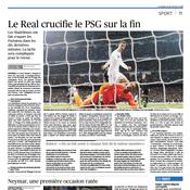 Le PSG crucifié pour Le Figaro