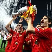 David Villa et Ruben de la Red Euro 2008
