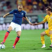 Roumanie-France, Benzema