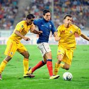 Roumanie-France, Nasri