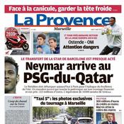 La Provence : «Neymar arrive au PSG-du-Qatar»