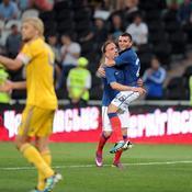 Ukraine-France, Ribéry-Martin