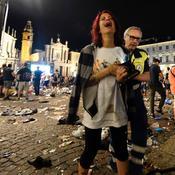 Une bien triste soirée à Turin