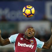 Swansea-West Ham - Michail Antonio