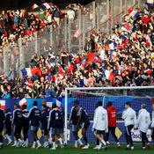 15.000 personnes pour suivre l'entraînement des Bleus à Guingamp