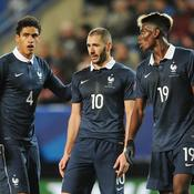 Raphaël Varane, Karim Benzema et Paul Pogba