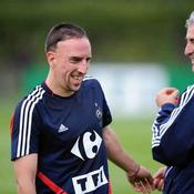 Franck Ribéry-Raymond Domenech