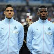 Raphaël Varane et Paul Pogba