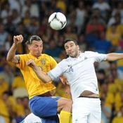 Zlatan Ibrahimovic face à Adil Rami