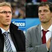 Laurent Blanc - Slaven Bilic France - Croatie
