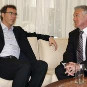 Laurent Blanc et Didier Deschamps