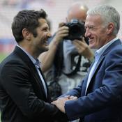 Blessé, Lizarazu commentera le match des Bleus en Moldavie avec Margotton depuis Paris