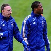 Franck Ribéry-Patrice Evra