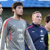 Franck Ribéry et Yoann Gourcuff
