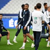 Kylian Mbappé-Lucas Hernandez-Didier Deschamps