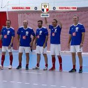 Handball 2008 - France 98 : le résumé du match des légendes en vidéo