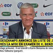La conférence de presse surréaliste de Deschamps