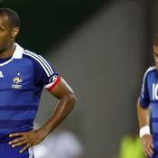 Henry et Benzema ont la tête basse