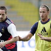 Franck Ribéry et Philippe Mexès