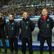 Laurent Blanc et son staff