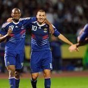 Abou Diaby Karim Benzema Bosnie-Herzégovine-France