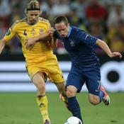 France Ribéry France-Ukraine