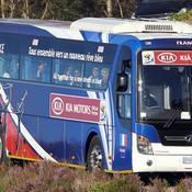 Bus de l'équipe de France
