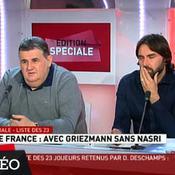 Les réactions des plateaux TV à la liste de Deschamps
