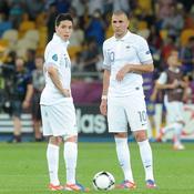 Samir Nasri et Karim Benzema