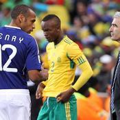 Thierry Henry et Raymond Domenech