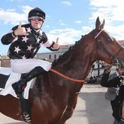 Première victoire pour le cheval d'Antoine Griezmann