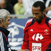 Raymond Domenech Thierry Henry Equipe de France